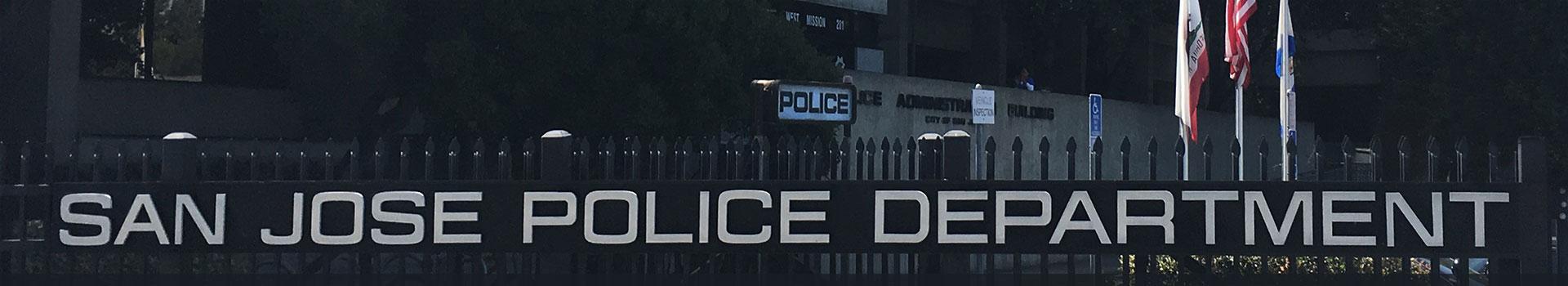 Report Crimes Incidents Online San Jose Police Department Ca